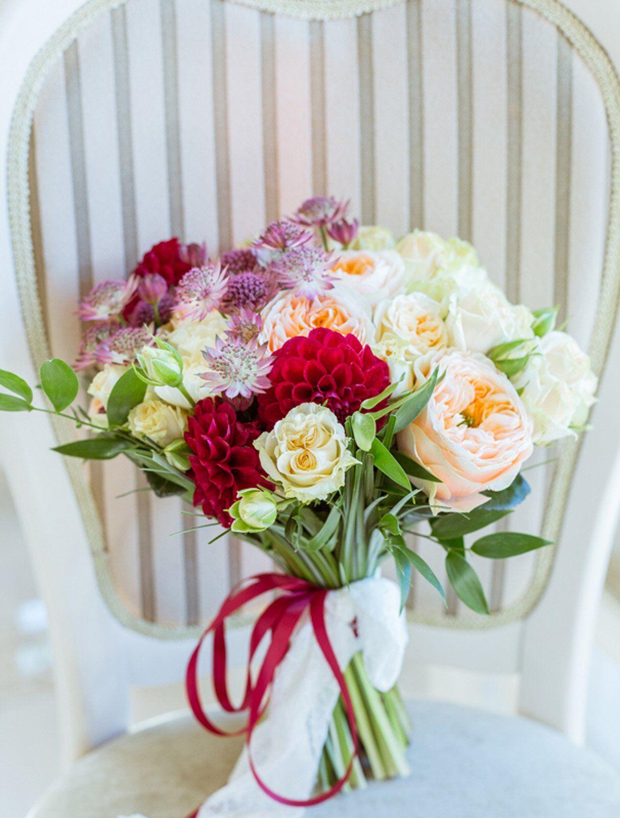 Свадебные букет на заказ евпатория
