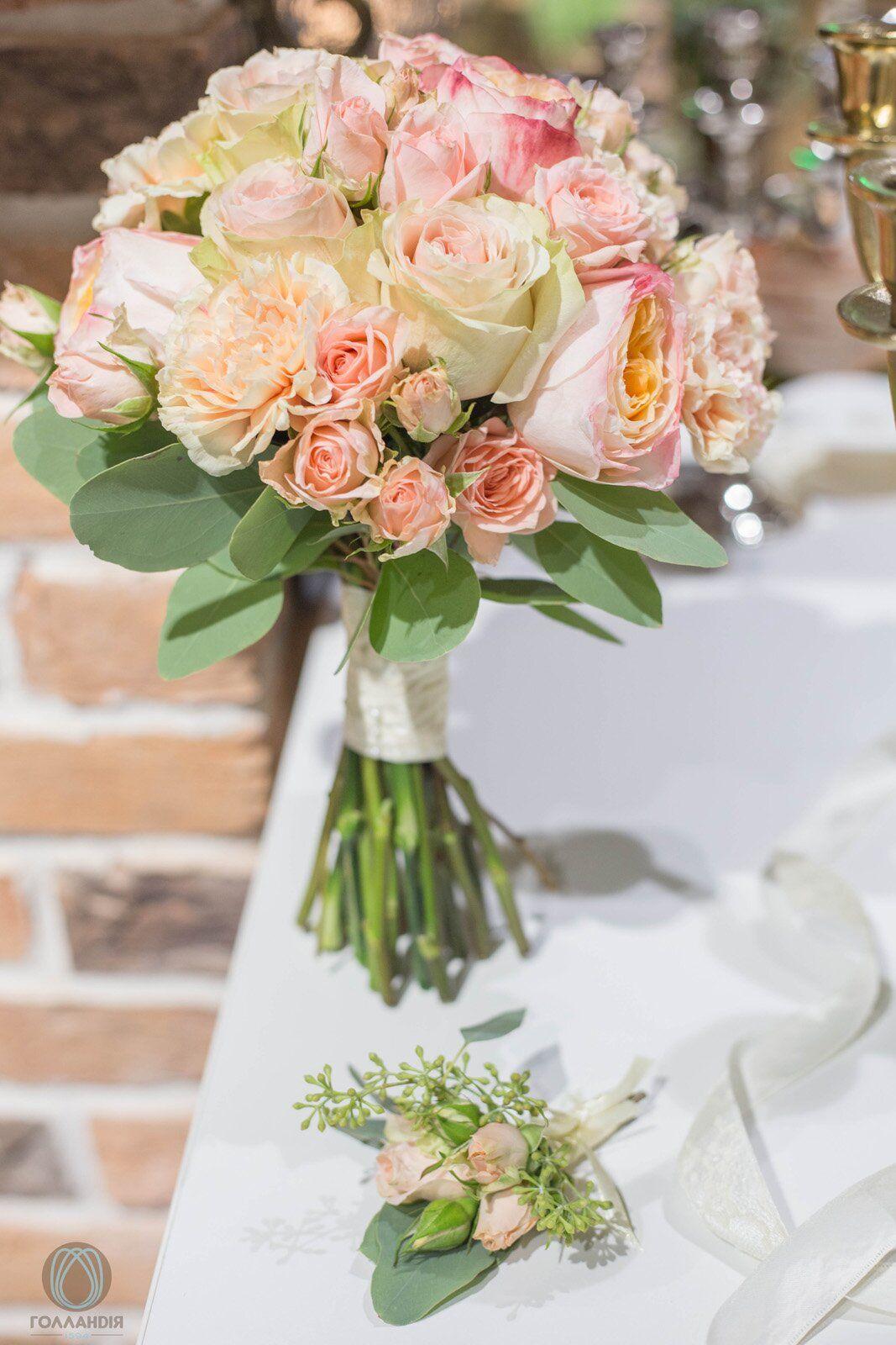 Донецк букет для невесты заказать одесса