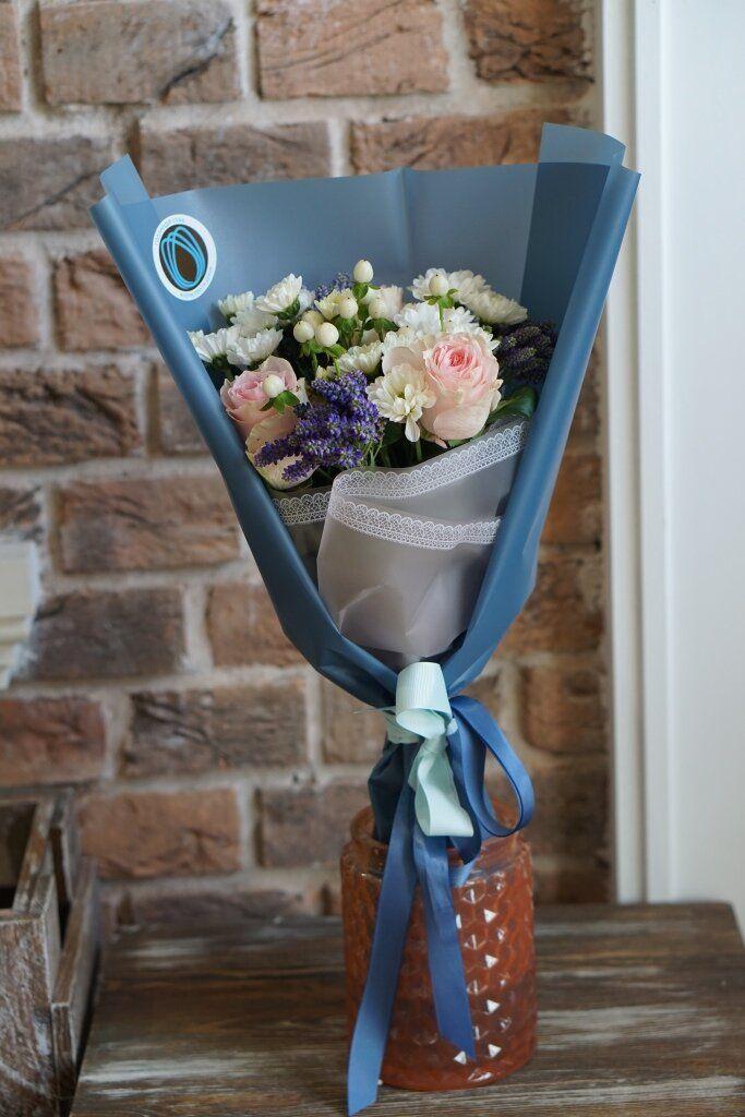 Зеркальный букет бк, заказать цветы москва