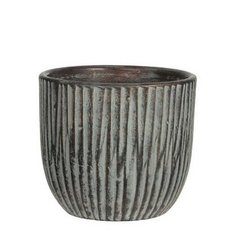 Кашпо MICA NORMAN POT ROUND L. GREEN - GREEN 27.0 x 24.0 см. 114680-EDL