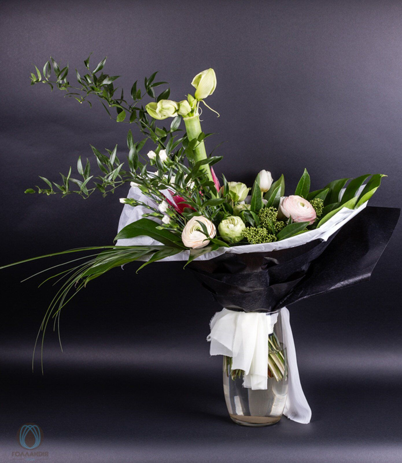 Букет цветов для мужчины купить киев, красивый недорогие