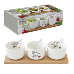 Набор для закусок Easy Life KITCHEN ELEMENTS (R0851-KITE)