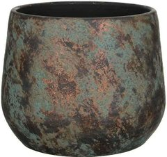 Кашпо MICA CLEMENTE POT ROUND - COPPER 38.0 x 31.0 см. 1034812-EDL