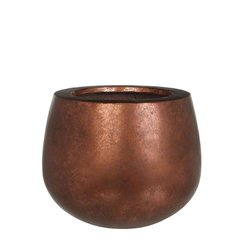 Кашпо MICA COPA POT ROUND  copper 31.0 x 25.0 см. 119245-EDL