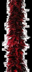 Исскуственные растения DRIED LEAVES GARLAND red 43486-SH L120CM