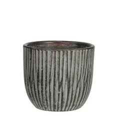 Кашпо MICA NORMAN POT ROUND L. - GREEN 24.5 x 22.0 см. 114679-EDL