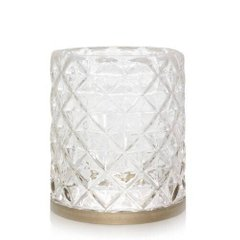 Підсвічник Yankee Candle LANGHAM MET / BAND CLEAR GLASS (1614086)