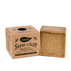 Алеппское мыло Alepia AUTHENTIC ALEPPO SOAP 5% - 190g (AR0002)