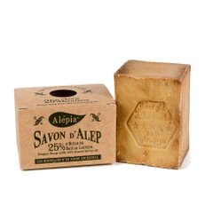 Алеппское мыло Alepia AUTHENTIC ALEPPO SOAP 25% - 190g (AR0023)