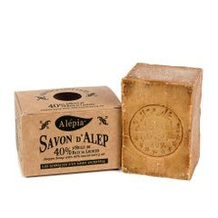 Алеппское мыло Alepia AUTHENTIC ALEPPO SOAP 40% - 190g (AR0004)
