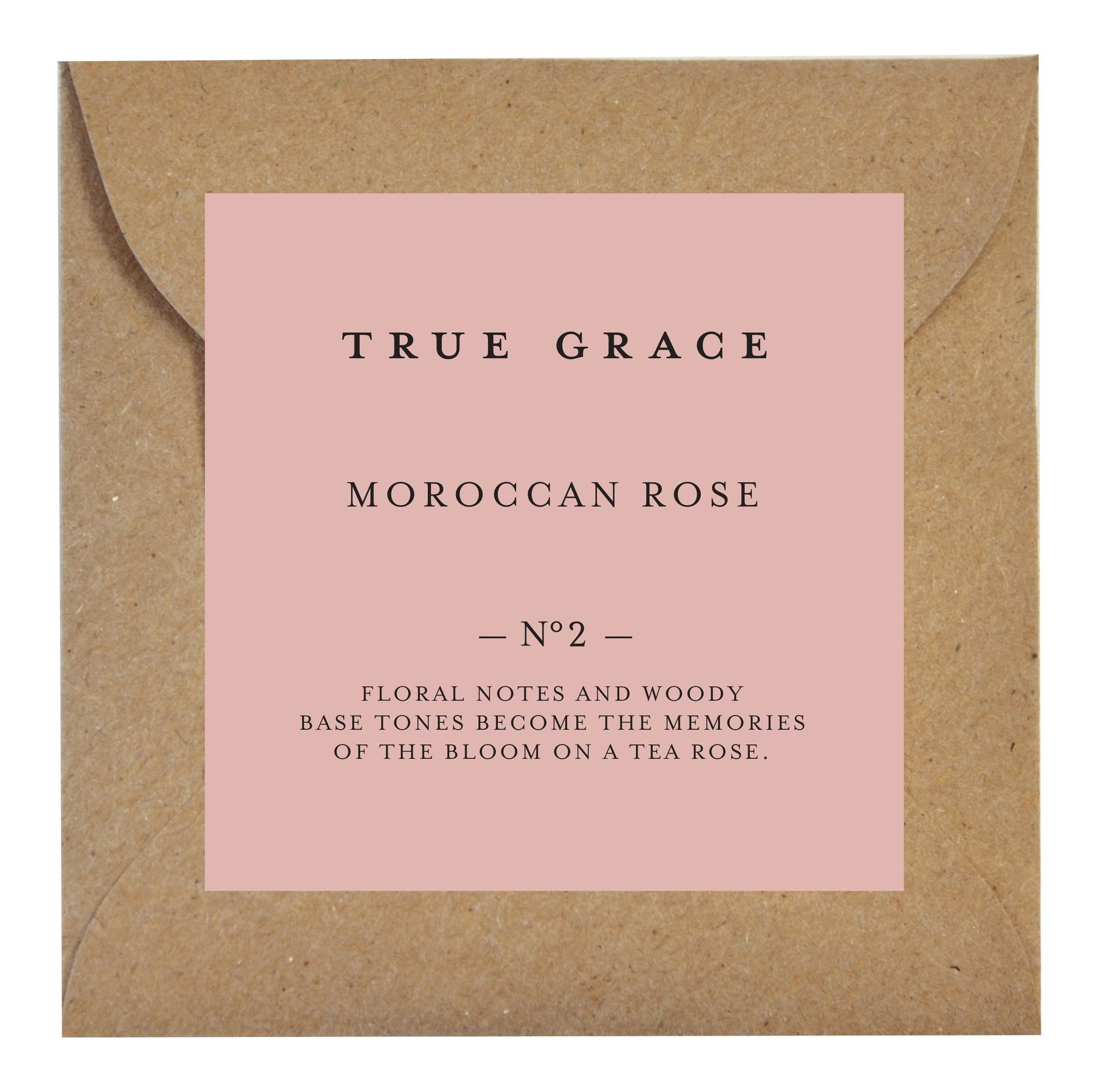 Ароматическое саше True Grace SCENTED LEAF № 02 Moroccan Rose VILLAGE арт: SLE-V-02