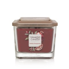 Ароматическая свеча Yankee Candle ELEVATION MEDIUM 38H Holiday Pomegranate (1591098E)
