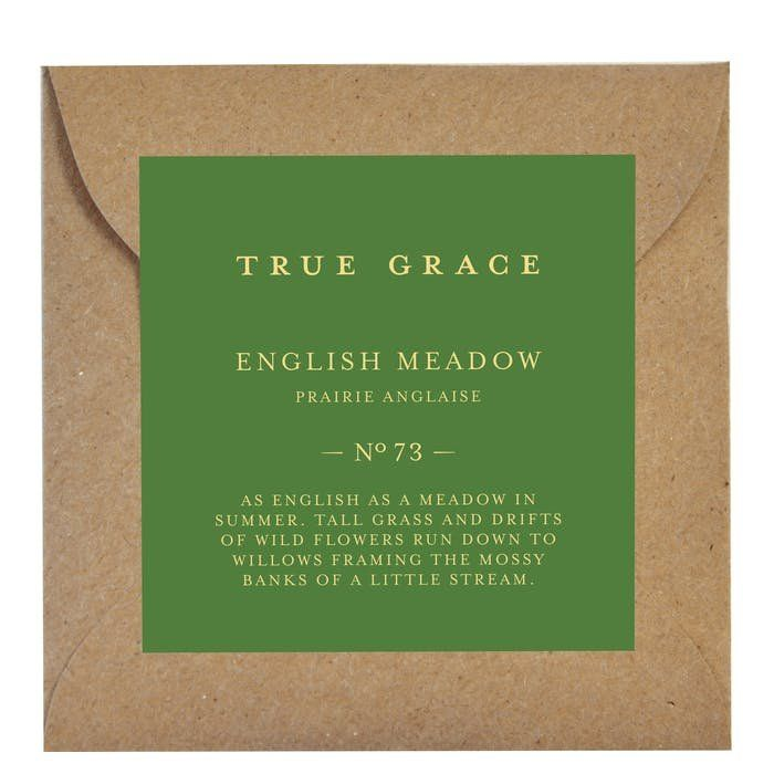 Ароматическое саше True Grace SCENTED LEAF № 73 English Meadow VILLAGE арт: CLE-V-73