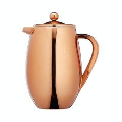 Кофейник (термо) Le'Xpress STAINLESS STEEL COPPER FINISH INSULATED 1 LITRE CAFETIÈRE, в коробке, 1000 мл. (KCLXDBLCOP8CUP)