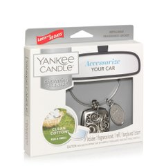 Ароматизатор для авто Yankee Candle CHARMING SQUARE Clean Cotton (1578778E)