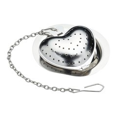 Заварник (ситечко для чая) Le'Xpress STAINLESS STEEL NOVELTY HEART SHAPED TEA INFUSER, в коробке (KCLXHEART)
